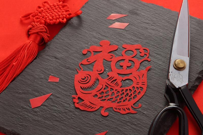 ของแต่งบ้านเก๋ๆ เทศกาลตรุษจีน เปเปอร์คัตติ้ง