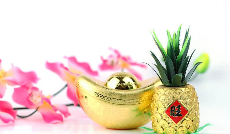 ของแต่งบ้านเก๋ๆ เทศกาลตรุษจีน สับปะรด